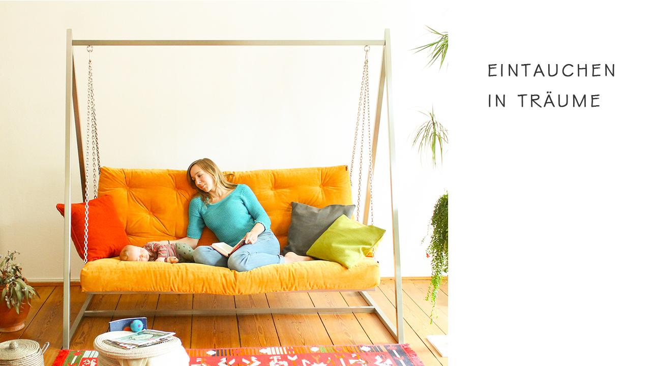 Eintauchen in Träume - Einzigartigen Komfort ansehen | Schaukelsofa | Hängesofa | Hängeschaukel | Schaukelliege